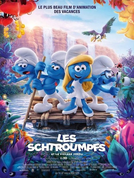 Smurfs - The Lost Village (English) tamil full movie download 720p