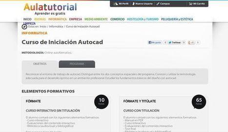 Curso de Iniciación a Autocad gratuito para seguir en línea   Recull diari   Scoop.it