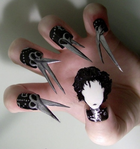 Crazy Nail Art Designs - Nail Design Ideas 2015...