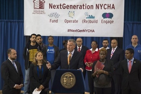De Blasio Reveals Plan to Solve 'Worst Financial Crisis' in NYCHA History - New York Observer | HarlemHCL | Scoop.it