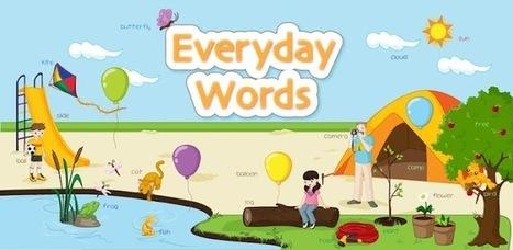 Kids Learn Everyday Words Lite | Creative Tools... and ESL | Scoop.it