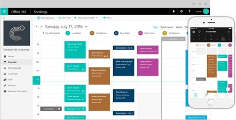 Bring in business 24/7 with Microsoft Bookings - Office Blogs | Nova Tech Consulting S.r.l. | Scoop.it