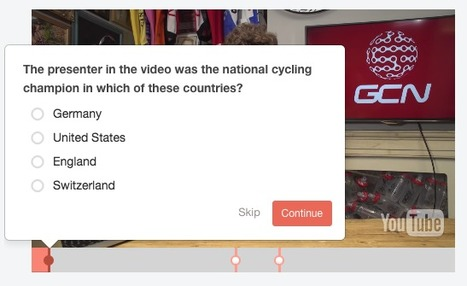 Free Technology for Teachers: Vizia - Create Interactive Video Quizzes | SchoolLibrariesTeacherLibrarians | Scoop.it
