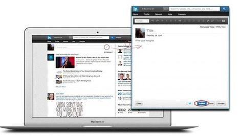 With New Publishing Tools, LinkedIn Makes Everyone a Professional Blogger | Employer branding | Scoop.it