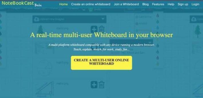 NoteBookCast. Un tableau blanc en ligne, collaboratif et gratuit – Les Outils Tice | TIC et TICE mais... en français | Scoop.it