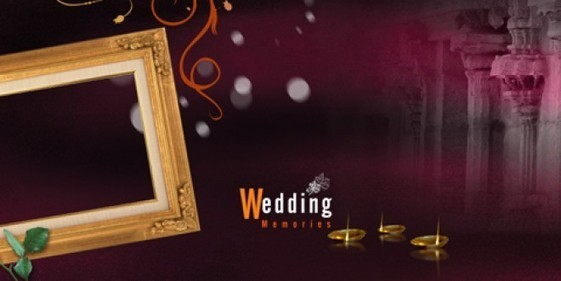 new wedding memories psd backgrounds free downl