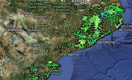El mapa de guifi.net, la mayor red telemática ciudadana del mundo   Cartografia Ciudadana   Scoop.it