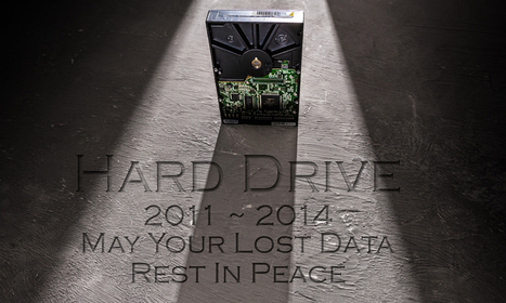 All Hard Drives Will Die | Photography | Scoop.it