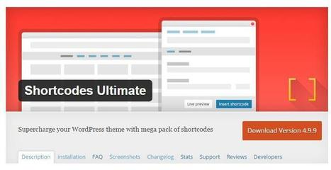 Le plein de shortcodes pour WordPress | Les outils d'HG Sempai | Scoop.it
