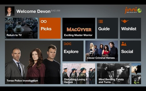 Jinni Offers Enhanced API, Builds in Social TV Recommendations | Video Breakthroughs | Scoop.it
