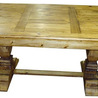 Country Rustic Pine Dining Table- 86″