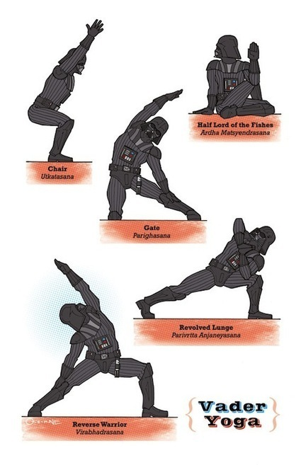 Star Wars Characters In Various Yoga Poses   Yoga For The Non-Cliche Yogi   Scoop.it