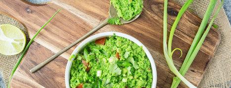 Pea Guacamole Recipe | Vegan Food | Scoop.it