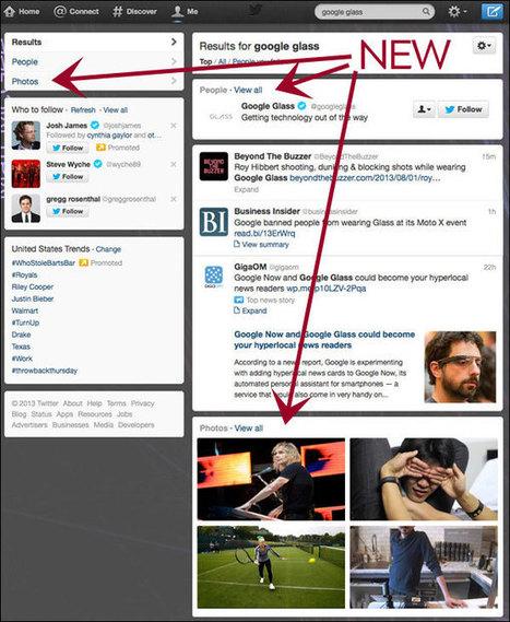 Twitter dévoile son nouveau moteur de recherche | Médias sociaux et tout ça | Scoop.it