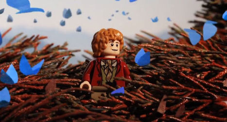 Lego Trailer for 'The Hobbit: The Desolation of Smaug' | Viral Videos | Scoop.it