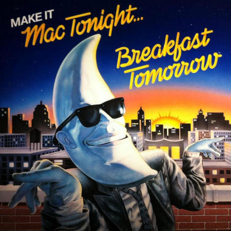 Man in the Moon: How Mac Tonight Became the Burger King | A Cultural History of Advertising | Scoop.it