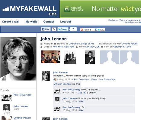 My Fake Wall | Edu 2.0 | Scoop.it