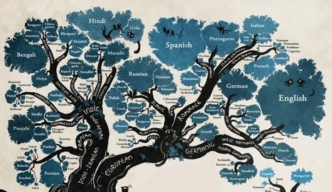 El origen de los idiomas, explicado en una preciosa infografía | Reflejos | Scoop.it