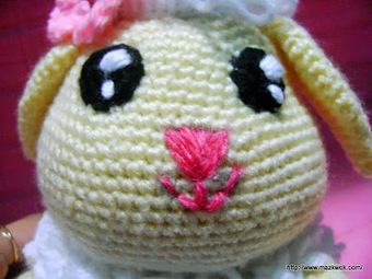 How to... Make Amigurumi Eyes with Yarn | Yeux crochet, Animaux d ... | 255x340