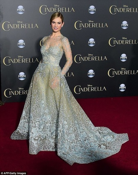 'If you're nice to rats, you too can have a waist the circumference of a Coke can': Cinderella makes $70m on its opening weekend, but filmgoers hit out over Lily James's tiny waist   Content Ideas for the Breakfaststack   Scoop.it