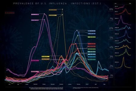 By the Numbers: Flu Season, Visualized | Health Innovation | Scoop.it