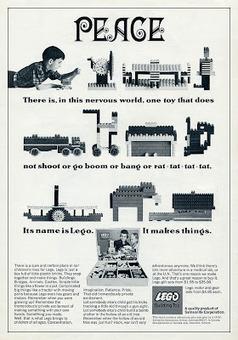 copyranter: Amazing 1960s Lego anti-war ad.   Future Of Advertising   Scoop.it