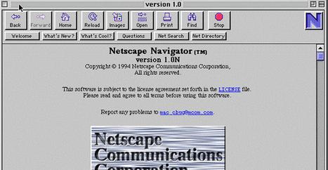Netscape, l'ancêtre de Firefox, fête ses 20 ans | François MAGNAN  Formateur Consultant | Scoop.it