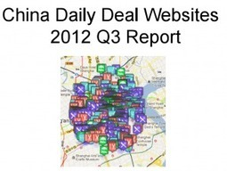 Daily Deal Industry in China Q3, 2012 inc. Travel Special | blog.dataotuan.com | Daily Deal Industry Association News | Scoop.it