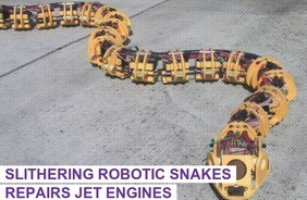 Slithering Robotic Snakes Repairs Jet Engines | Biomimicry | Scoop.it