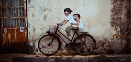 Le street art interactif d'Ernest Zacharevic | Backlight Magazine. Photography and community. | Scoop.it
