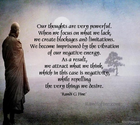 Thinking Negative Thoughts In Inspirational Life Quotes And