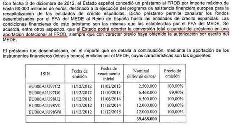 El desastre del FROB: el Estado perderá casi 40.000 millones de euros en esta aberración pública | Preferentes y otros tóxicos bancarios | Scoop.it