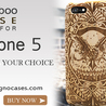 iphone 5 Wooden Case
