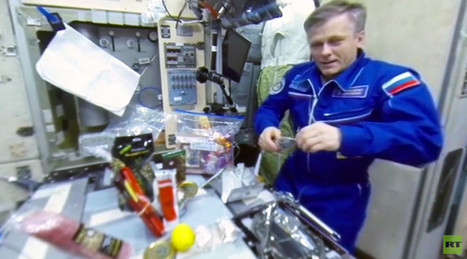 RT Space 360: Celebrating New Year's 16 times & '360 degrees of happiness from ISS' (VIDEO)   STEM Connections   Scoop.it
