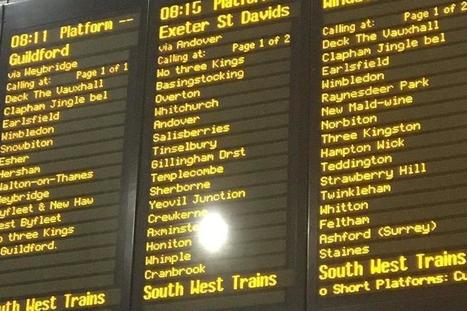 London stations given funny Christmas-themed new names | Strange days indeed... | Scoop.it