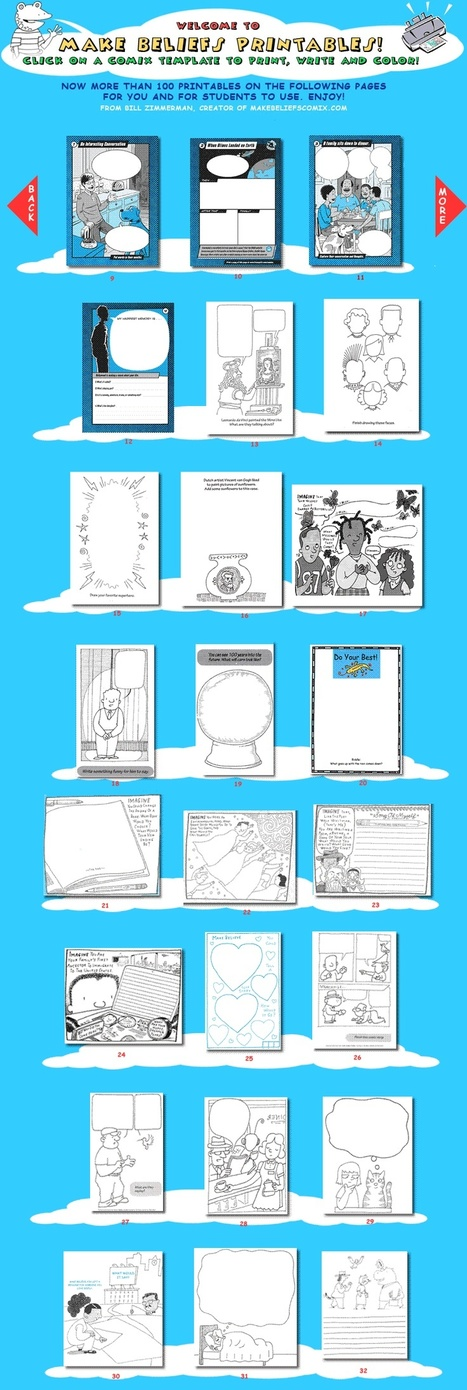 FREE Printables from MakeBeliefsComix.com! | ESOL, TESOL, TESL, ESL | Scoop.it