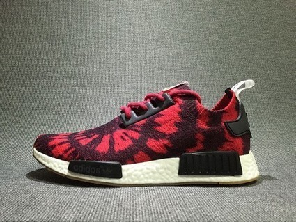 Cheap Men's adidas NMD Runner Casual Shoes AQ4791 black/red at Sportsfeed.co