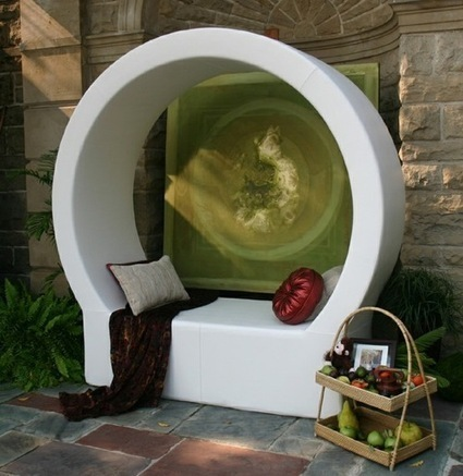 Peas in a Pod: 10 Chic Privacy Seats | Designing Interiors | Scoop.it