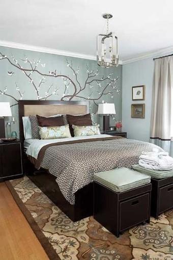 Decoracion Dormitorios Pintura Awesome Alcobas Decoracion Modernas - Pintura-para-dormitorios