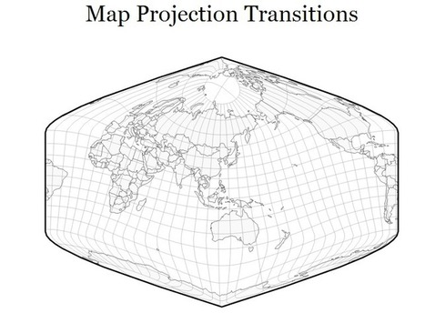 Map Projection Transitions | Rincón didáctico de CCSS, Geografía e Historia | Recursos educativos para Bachillerato, Geografía e Historia | Scoop.it
