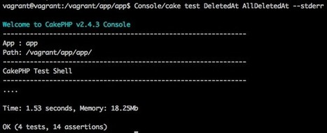 CakeAdvent-2013: Building a Behavior with CakePHP | CakePHP Reporter | Scoop.it