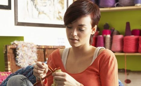 Did You Know? Knitting Voted #1 Most Stressful Stress Reliever | Fiber Arts | Scoop.it