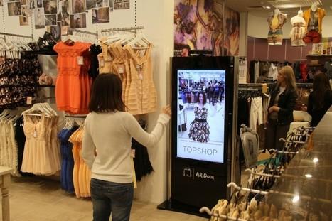 Réalité augmentée : Une boutique avec des cabines d'essayage virtuelles | PixelsTrade Webzine | Business Apps : Applications in-house | Scoop.it