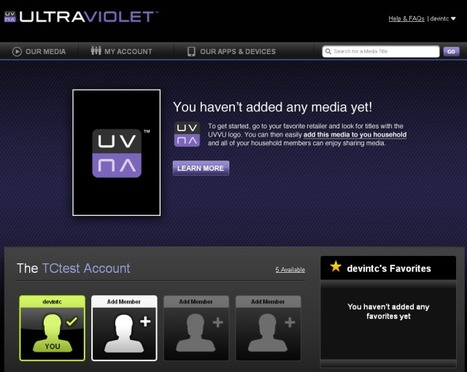 DRM-Curious? You Can Create An UltraViolet Account Now | Social TV is everywhere | Scoop.it