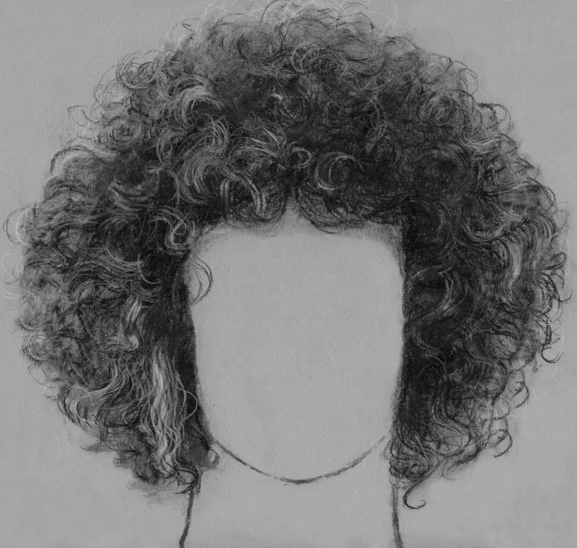 how to draw hair on windows paint