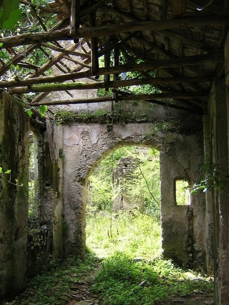 Ruins of a paper mill dating from as far back as the th century Campania Italy Photo by Jeff Kerwin | Modern Ruins | Scoop.it