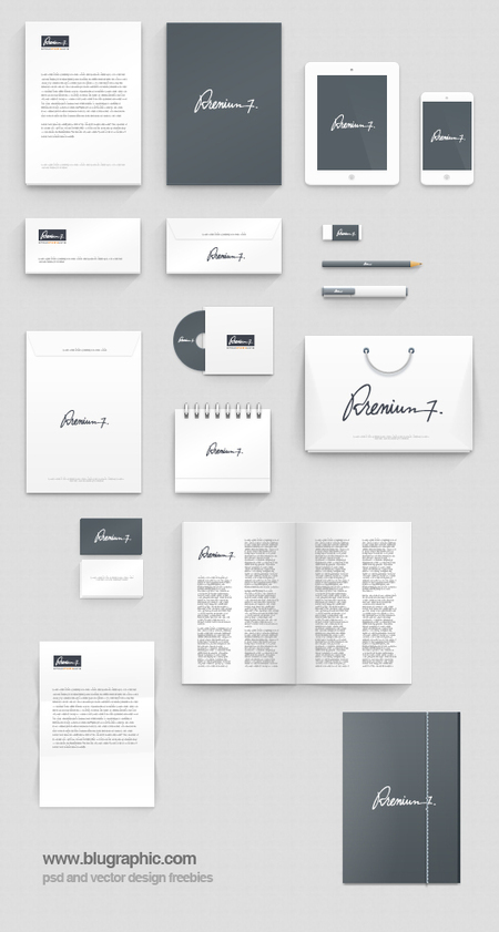 Corporate Identity Photoshop Mock-up (Psd) | photoshop ressources | Scoop.it