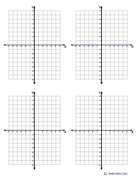 Graph Paper  Printable Math Graph Paper  Tele