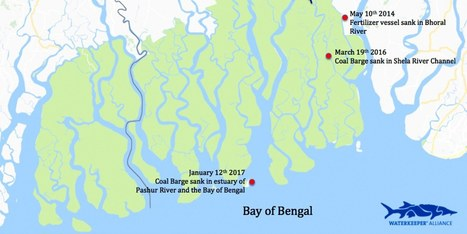 Another Coal Barge Sinks in the Sundarbans World Heritage Site | Farming, Forests, Water, Fishing and Environment | Scoop.it
