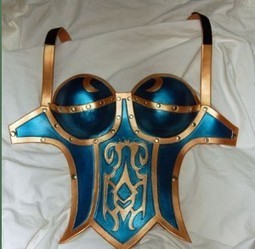 Con Cosplay: World of Warcraft Leather Armor Tutorial | Geeky Creations | Scoop.it